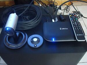 Lifesize Passport Hd Video Conferencing W focus Camera micpod remote adapter