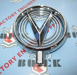 1955 Buick Hood Ornament 1958 Buick Fender Ornament Chrome Free Shipping