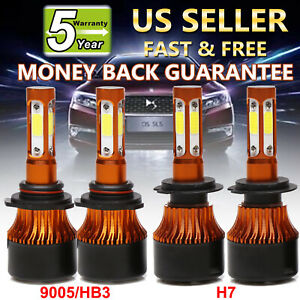 9005 H7 Led Car Headlight 800w 80000lm High Low Beam For Mazda 3 5 6 Cx 7