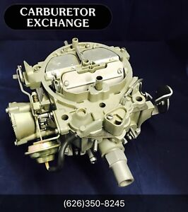 1977 Oldsmobile Remanufactured Rochester Quadrajet Carburetor 403