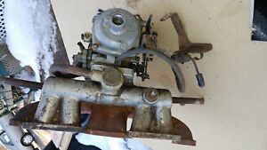 Triumph Spitfire Stromberg Carburetor With Manual Choke And Manifold