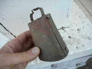 Vintage Farm 4 5 Small Metal Cow Goat Animal Bell No Clapper