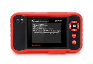 Crp123 Auto Scanner Obd2 Engine Transmission Abs Srs Diagnostic Tool Launch X431