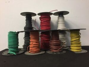 Lot Of 10 Spools 10 Awg Wire