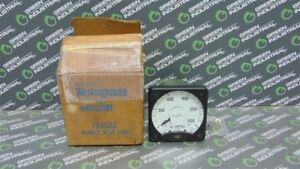 New Westinghouse Kx 241 Dc Amp Meter 0 1500 Amperes