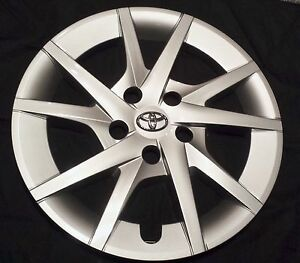 New Prius Sw V 2012 2015 Hubcap Rim Wheel Cover 16 Fits Toyota Pruis Wheelcover