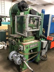 Bruderer Model Bsta 30 21 5 X 12 Bed 3 Post High Speed Press 3