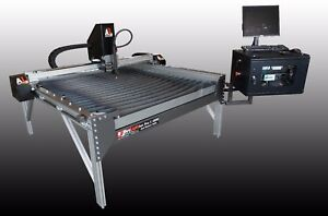 Arclight Dynamics 4 x4 Cnc Plasma Cutting Table Industrial Metal Cutter