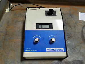 Vwr Turbidity Meter 66120 200 With Power Adapter