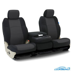 Coverking Neoprene Front Custom Car Seat Cover For Chevy 2007 Silverado 2500 Hd