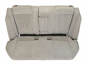 94 96 Toyota Camry Rear Seat Bench Complete Lt Gray Oak Oem