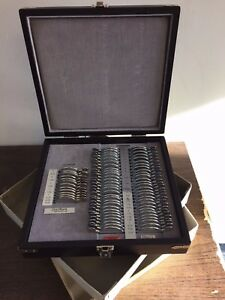 Optimark 68 Pc Trial Lens Set Minus Cylinder Mint Condition