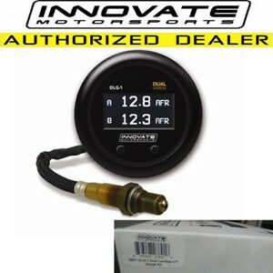 Innovate 3891 Dlg 1 Dual Lambda Air Fuel Ratio Afr Wideband O2 Gauge Kit