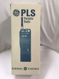 Ge Walkie talkie Handheld Portable Two way Radio Plsh05 Ericsson Vhf Brand New