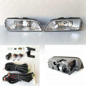 Jdm Style Fog Light Kit For 2006 2007 Honda Accord 4dr Seden W Wire Bulbs Swith