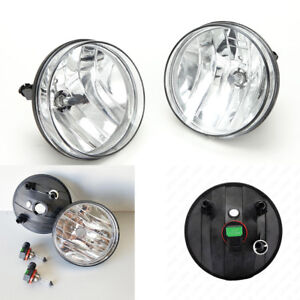 Fog Light Kit For 2007 2013 Gmc Sierra 1500 2500hd 3500hd Clear Lens With Bulbs