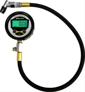 Proform Parts Lighted Digital Tire Pressure Gauge 0 60 2 1 2 In 67395