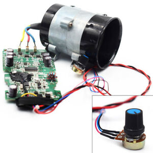 12v Auto Electric Turbine Power Turbo Charger Boost Air Intake Fan Control Kit