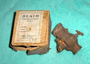 Heath No Float Brass Model T Ford Carburetor Nos With Box