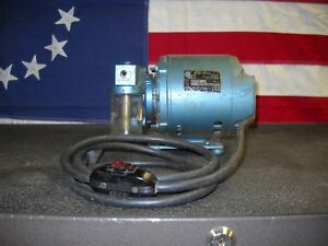 Bell And Gossett Oil less Rotary Air Compressor Vacuum Pump