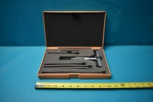 Used Mitutoyo 0 4 Depth Micrometer With Case