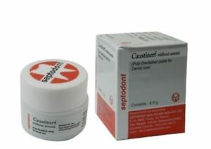 New Caustinerf Without Arsenic Pulp Devitaliser 6gm By Septodont