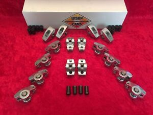 Erson Cams 801 16 Sb Chevy Extreme Duty 1 5 Aluminum Roller Rockers 7 16 Stud