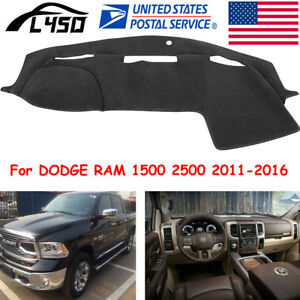 Us Dashmat Fit For Dodge Ram 1500 2500 2011 2016 Dashboard Mat Dash Cover Carpet