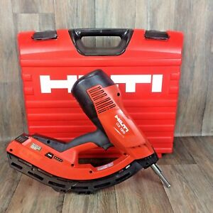 2016 Hilti Gx 120 nail Gun Case Track Drywall Gas Actuated Tool Fastening 3
