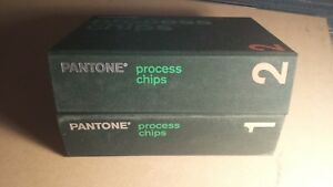Lot 6 Used Pantone Color Chips Books Booklets