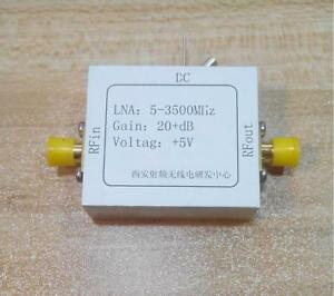 5 3500mhz Rf Wide band Low Noise Amplifier Gain 20db High Frequency Amplifier