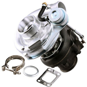 T04e T3 T4 Turbo Turbocharger Compressor Internal Wastegate V Band Down Pipei