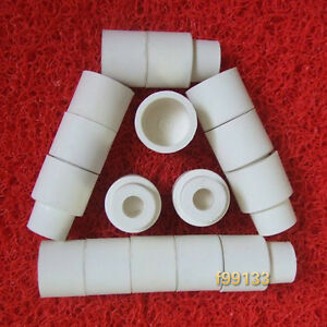 100pcs Sleeve Type White Rubber Stoppers For 24 40 Glassware