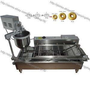 300 1200pcs Heavy Duty Electric Auto Donut Making Machine Doughnut Maker Fryer