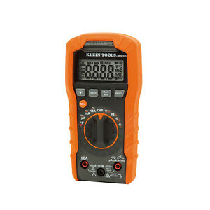Klein Mm400 Digital Multimeter Electrical Tester Auto Ranging