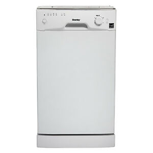 Danby 8 Place Setting Energy Star Under Counter Compact Dishwasher Crisp White