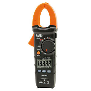 Klein Tools Cl310 Digital Clamp Meter Ac Auto ranging 400a Trms True Rms