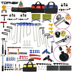 Pdr Rods Tools Dent Lifter Slide Hammer Paintless Dent Repair Removal Set Kits