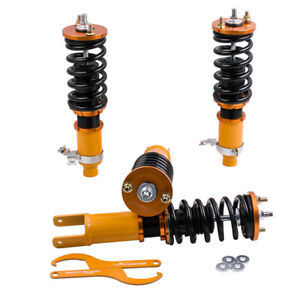 Coilovers For Honda Civic 92 95 Ex Lx Dx Coupe Sedan Integra 94 01 Adj Height