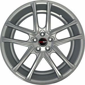 4 Gwg Wheels 22 Inch Silver Zero Rims Fits Ford Mustang Boss 302 2012 2014