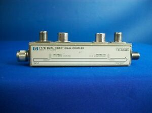 Agilent 777d Coaxial Dual directional Coupler 1 9 Ghz To 4 Ghz