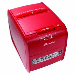 Paper Shredder Machine Heavy Duty Commercial Automatic Office Card 4 Gallon Bin