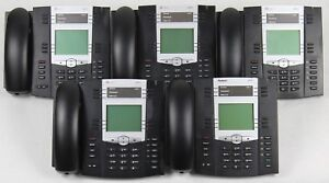 Lot Of 5 8x8 6755i Voip Office Phones