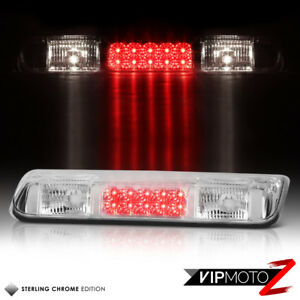 For 04 08 Ford F150 Lobo Chrome Led Third Brake Cargo Cab Roof Tail Light Lamp