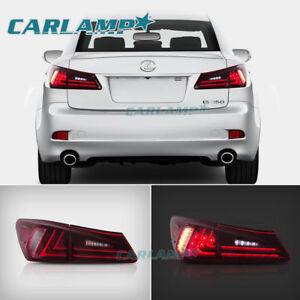 Led Tail Lights For Lexus Is350 Is250 Isf 2006 2012 Red Rear Lamps Assembly