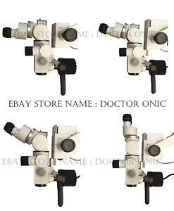Led Dental Surgical Operating Microscope 5 Step floor Type 0 180 Inclinable