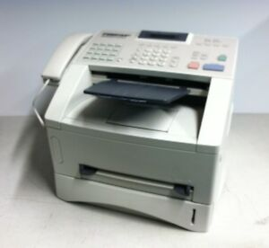 Brother Intellifax 4100e Business Laser Fax Printer Copier 2049 Pages W toner