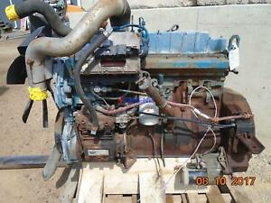 International Dt466e Engine Complete Good Running A Esn 470hm2u1304970