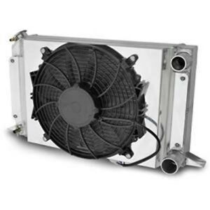 Afco Racing Electric Cooling Fan And Aluminum Shroud Kit 80104nfan