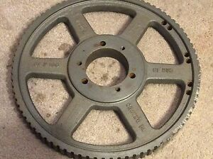 Tb Woods Timing Belt Pulley 84h100 Sf Sprocket Pulley 62957
